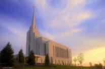 Rexburg Temple Work